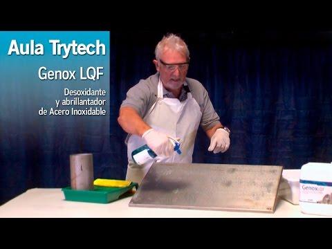 Genox LQF - Desoxidante y abrillantador de Aceros Inoxidables