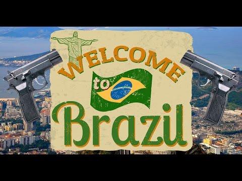 "TURISTA: ""BEM-VINDO"" AO BRASIL / WELCOME TO BRAZIL"