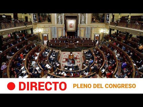 EN DIRECTO 🔴 PLENO en el CONGRESO de los DIPUTADOS (18/02/2021) l RTVE Noticias