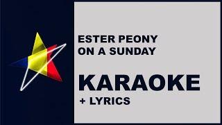 Ester Peony - On a sunday (Karaoke) Romania - Eurovision 2019