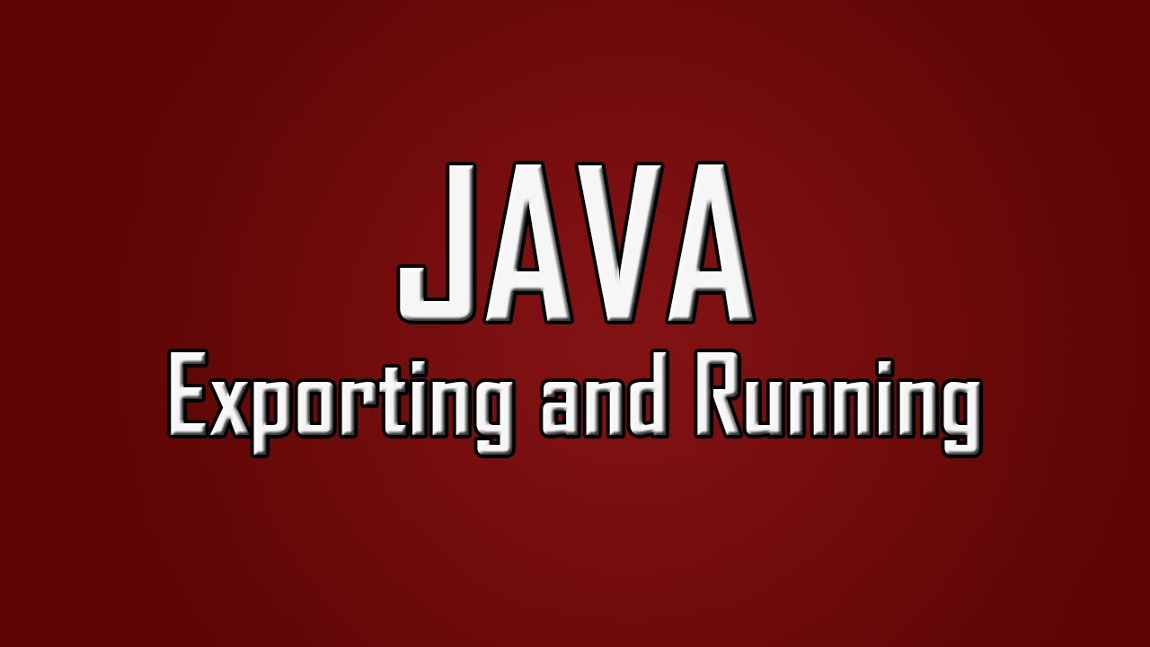 Is it possible to execute a Java application using a command script?