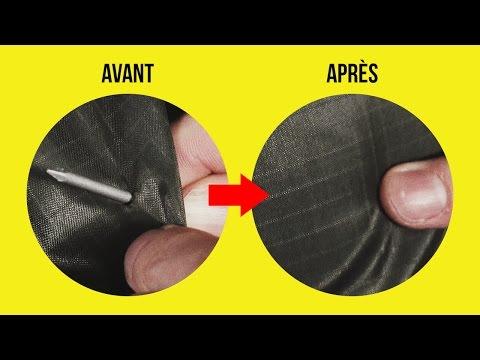 CRASH TEST : le Tissu qui se répare TOUT SEUL !