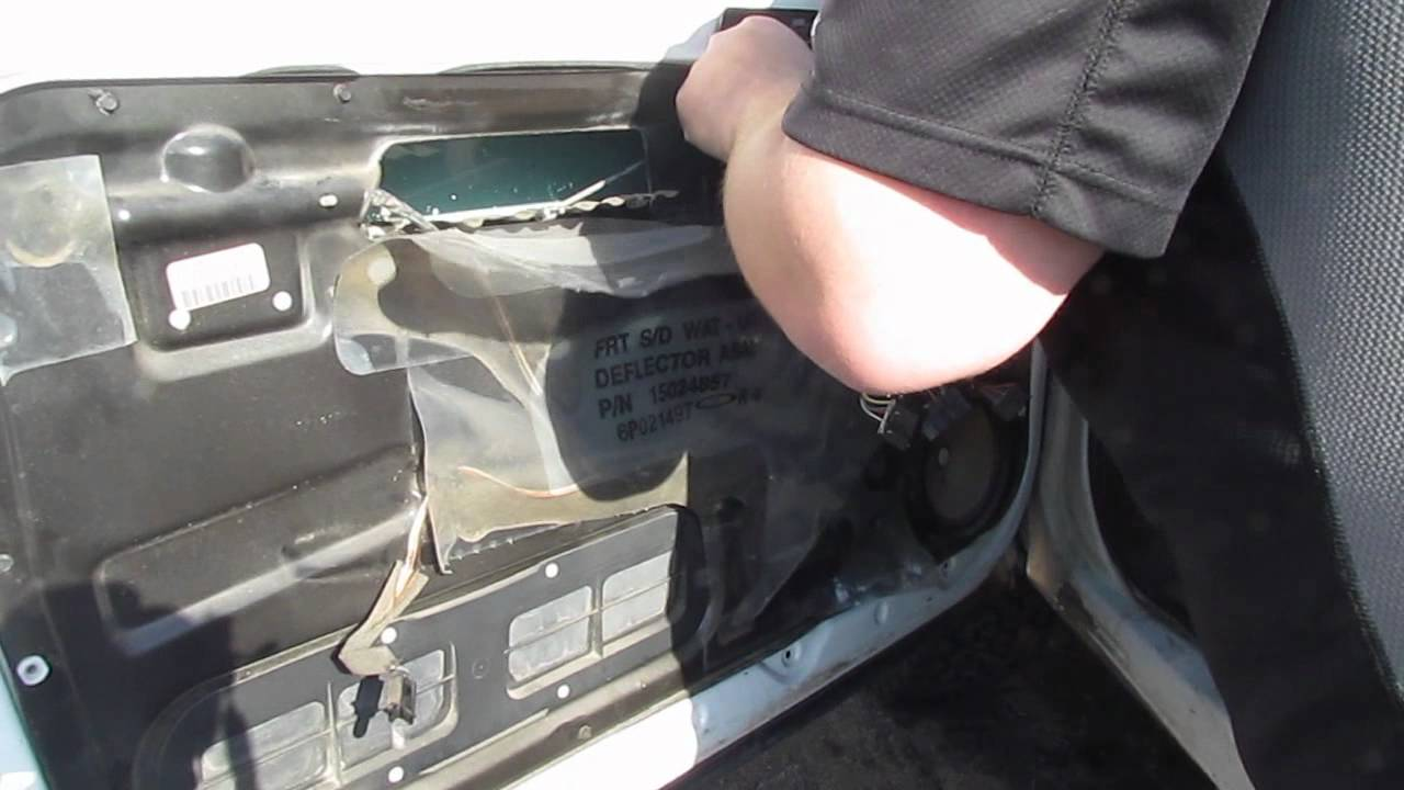 Inside door handle installation1997 Chevy Silverado  YouTube