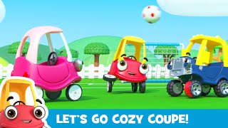 Cozy & Friends Play Soccer | Kids Videos | Cozy Coupe - Cartoons for Kids