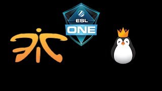 Fnatic vs Team Kinguin ESL One Katowice 2018 powered by Intel Highlights Dota 2