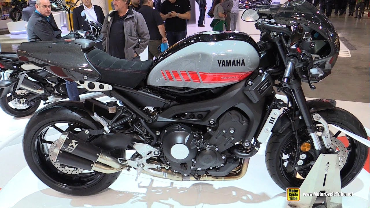 2017 Yamaha Xsr900 Abarth Walkaround Debut At 2016