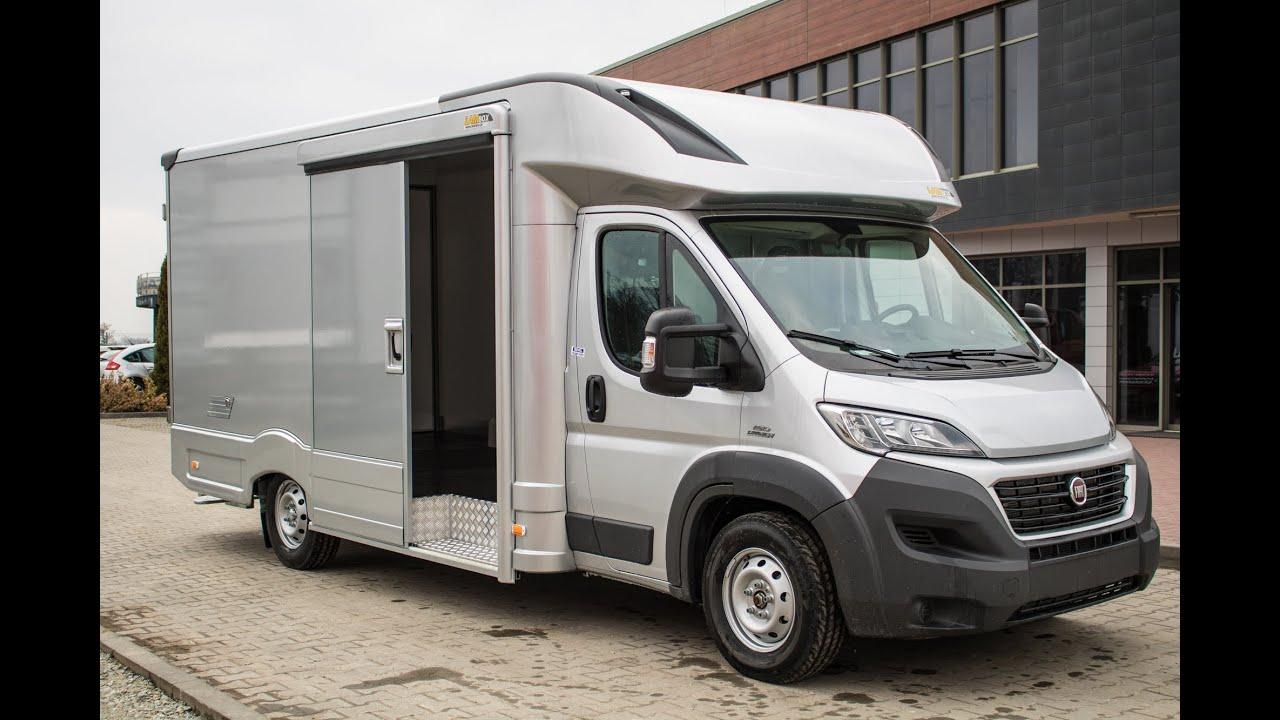 lambox transportowy fiat ducato wn trze i lambox transport truck body interior youtube. Black Bedroom Furniture Sets. Home Design Ideas