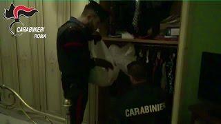 Roma, droga armi e orologi di lusso: arrestato 70enne a Boccea