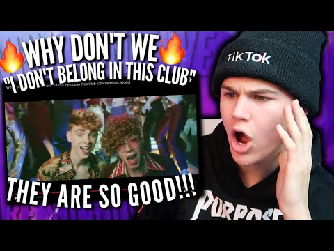 REACTING TO Why Don't We & Macklemore - I Don't Belong In This Club [Official Music Video] 2019