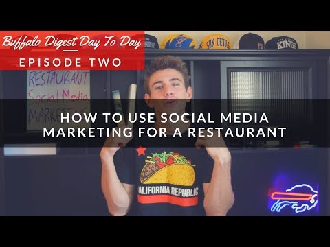 Social Media Marketing Strategy For A Restaurant