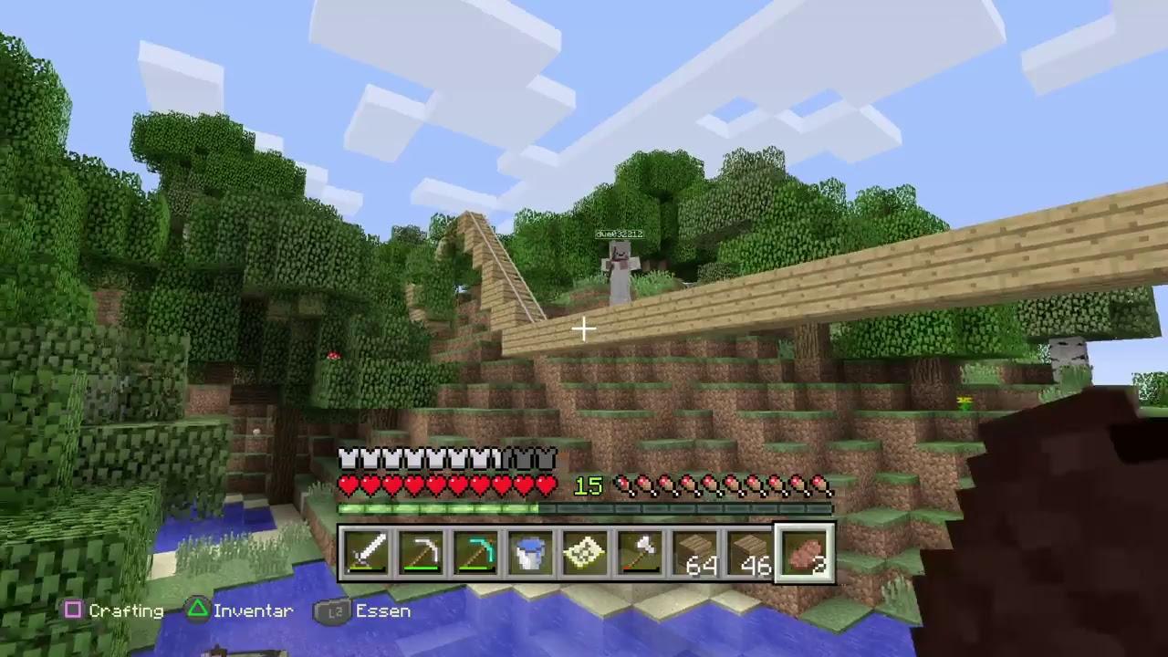 PS Minecraft Spielen Lpmitseb YouTube - Minecraft spielen ps4