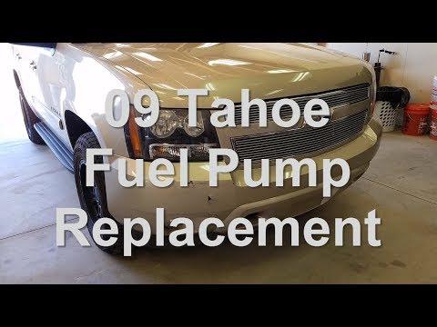 2009 tahoe fuel pump replacement