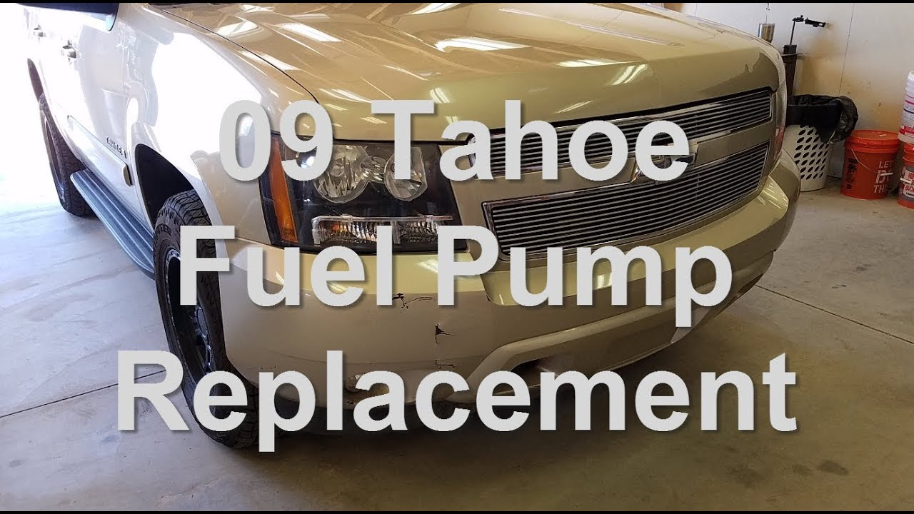 2009 Tahoe Fuel Pump Replacement Youtube 2005 Avalanche Filter Location