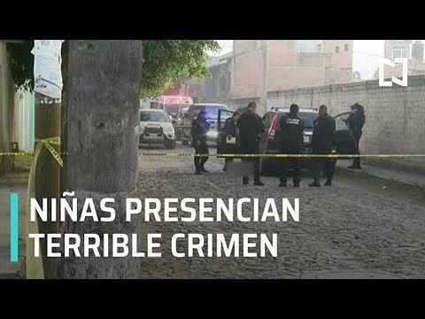 Niñas atestiguan asesinato de su madre en Jalisco - Despierta con Loret