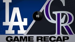 Dodgers smash 6 homers in a wild 12-8 win | Dodgers-Rockies Game Highlights 6/27/19