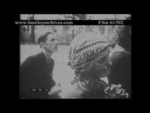 Poland in World War Two.  Archive film 61392