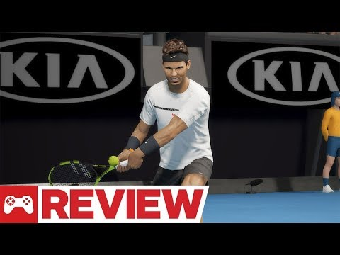 AO Tennis Video Review