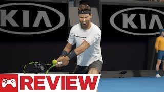 AO Tennis Video Review