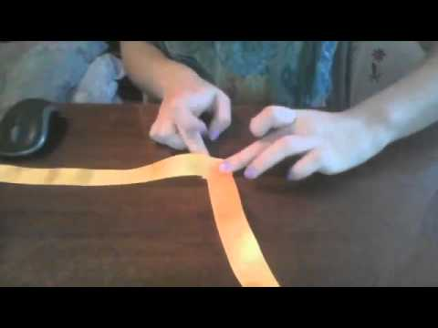 Как сделать розочку из ленты