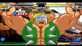 근육맨 머슬파이트 넵튠맨 콤보 Kinnikuman Muscle Fight NeptuneMan Co...