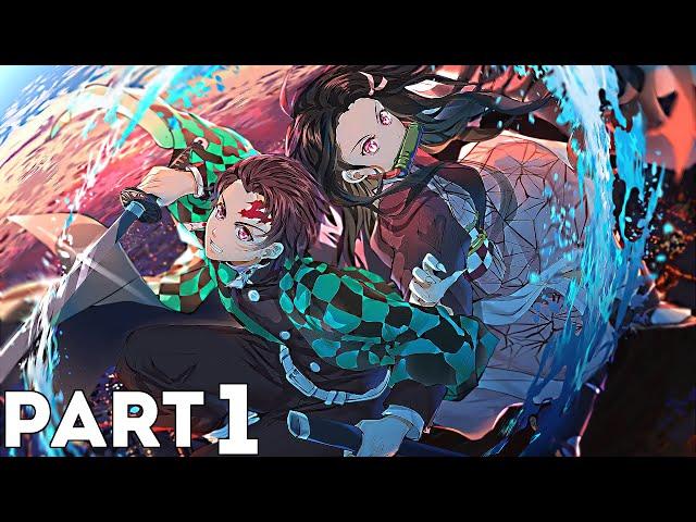 Demon Slayer -Kimetsu no Yaiba- The Hinokami Chronicles Walkthrough Part 1 - Chapters 1, 2, 3 & 4