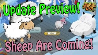Sheep Are Coming 🐑 Animal Jam Update Preview!