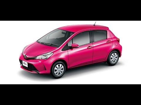 2014年 トヨタ新型ヴィッツ ピンク/TOYOTA New Vitz PINK