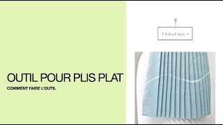 Dans cette vidéo je vous partage un secret bien gardé, c'est un outil pour faire rapidement les plis plats. Mon site est déménagé à ETSY ...