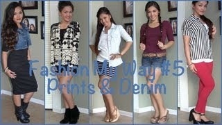 Fashion My Way #6: Prints & Denim Thumbnail