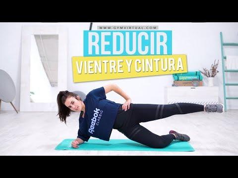 Ejercicios para vientre plano y reducir cintura | 10 minutos