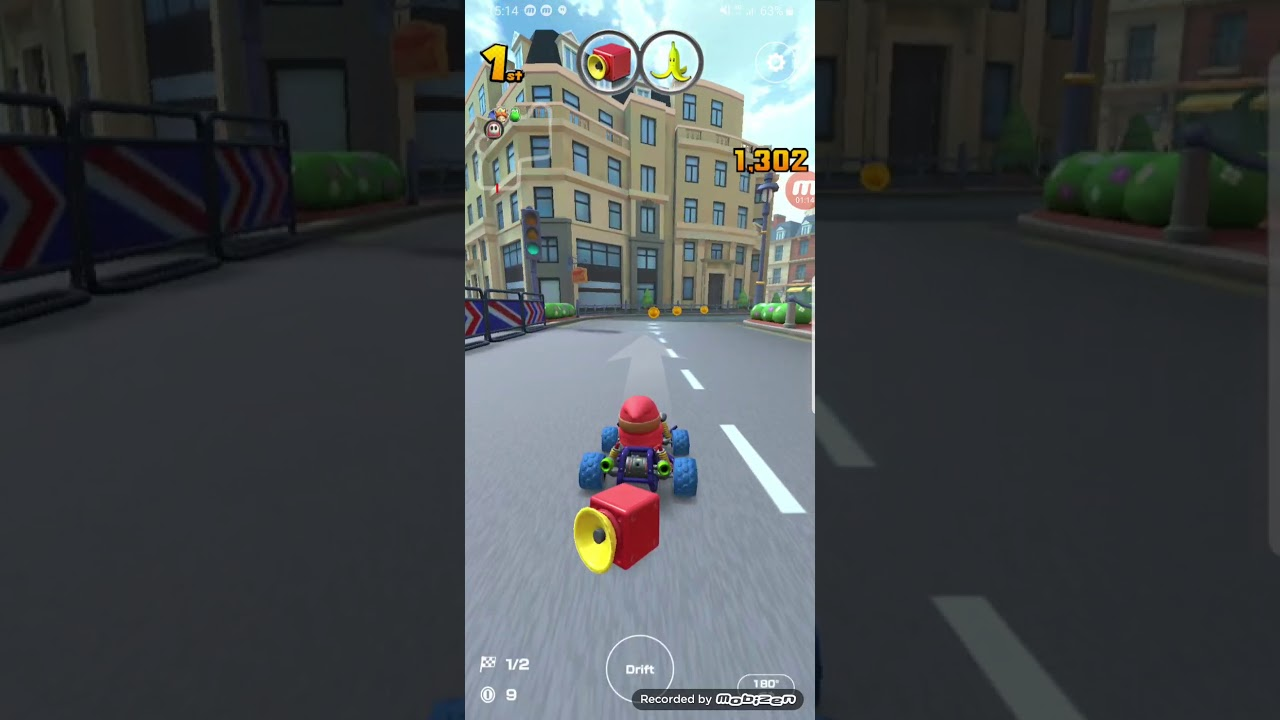 Mario Kart Tour Gameplay London Loop R 50cc Waluigi Cup Shy Guy