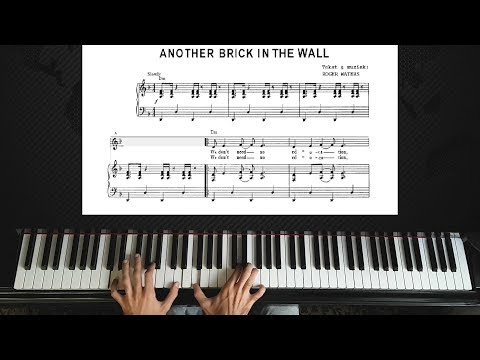 Pink Floyd - Another Brick in the Wall - Piano Tutorial