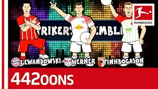 Lewandowski, Werner, Finnbogason? - Bundesliga World Cup Dream Team Rap Battle - Powered by 442oons