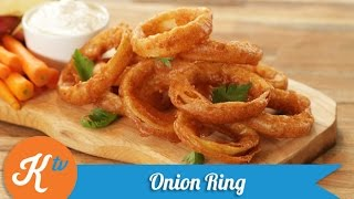 Resep Onion Rings (Onion Rings Recipe Video) | YUDA BUSTARA