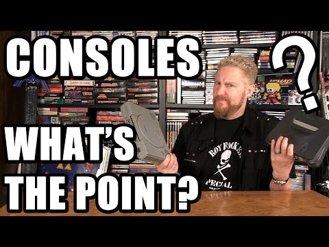 WHAT'S THE POINT OF GAME CONSOLES? - Happy Console Gamer
