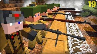 Вторая Мировая Война [ЧАСТЬ 19] Call of duty в Майнкрафт! - (Minecraft - Сериал)