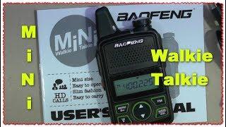 BaoFeng BF T1 Мини радиостанция Baofeng