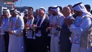 الهلال الإماراتي يفتتح مخيماً ثالثاً بإقليم كردستان