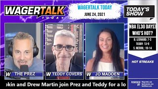 Free Sports Picks and Sports Betting   MLB Picks and NHL Betting Preview   WagerTalk Today   June 24