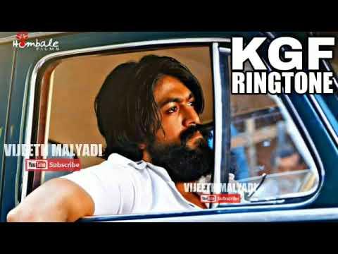 K G F GUN SCENE BGM RINGTONE / RAVI BASRURU / ROCKINGSTAR YASH / SRINIDHI SHETTY / DUBBED 2019