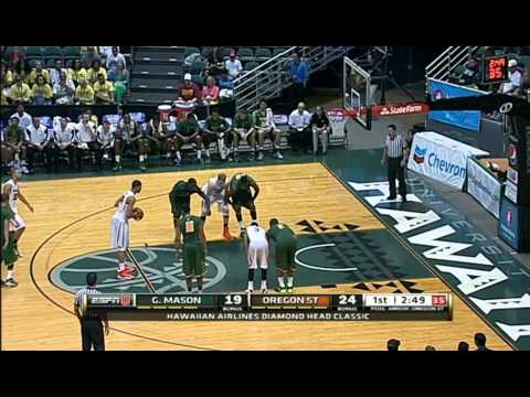 NCAA Basketball 2013 George Mason Patriots v Oregon State Beavers