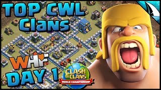*World Championship* Day 1 - TH 12 ESL Tournament | Clash of Clans