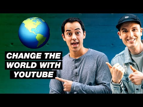 Help Us Change the World with YouTube