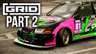 GRID 2019 Career Mode Gameplay Walkthrough Part 2 - MODIFIED EVO 6 (World Series)