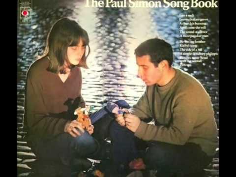 Paul Simons music1963 to 1965