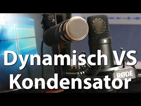 Dynamische vs Kondensator-Mikrofone