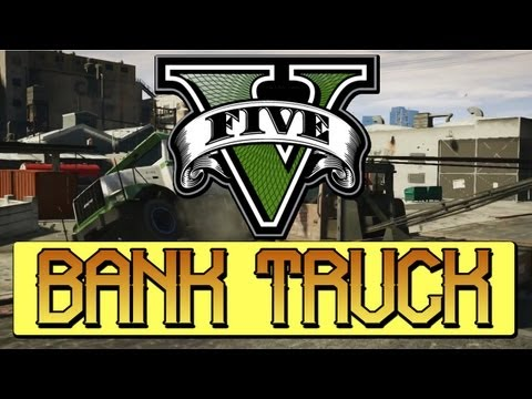 ★GTA 5 - BANK TRUCK LOCATIONS!