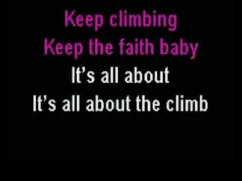 Miley Cyrus - The Climb (karaoke instrumental)
