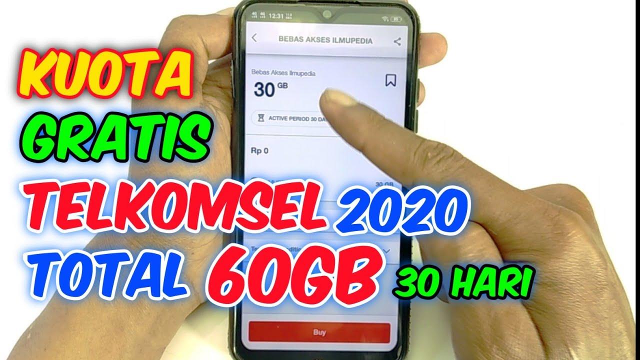 Cara Mendapatkan Kuota Gratis Telkomsel 2020 Youtube