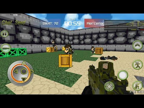 Combat Pixel Arena 3D Multiplayer - Android Gameplay FHD